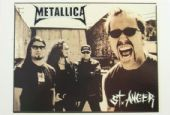 Metallica 'St Anger' Postcard